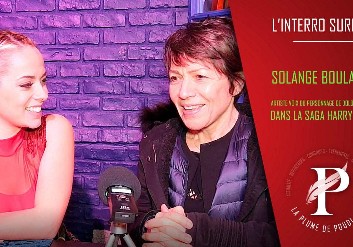 Solange Boulanger : La voix française de Dolores Ombrage