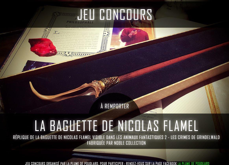 Remportez la baguette de Nicolas Flamel