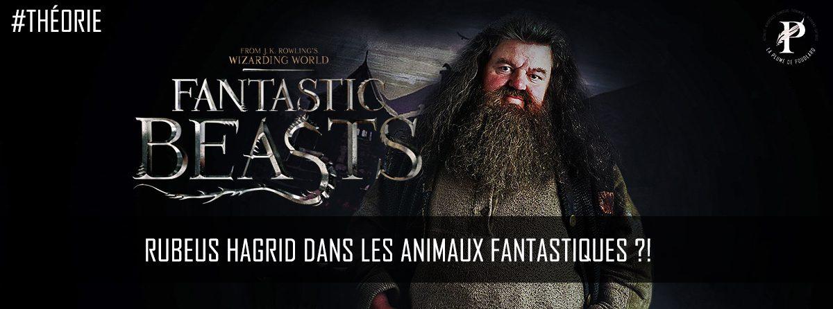 Théorie: Rubeus Hagrid dans les animaux fantastiques