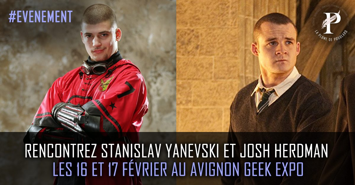 Rencontrez Stanislav Yanevski et Josh Herdman les 16 et 17 février au Avignon Geek Expo
