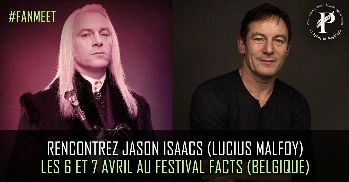 Rencontrez Jason Isaacs l'interprète de Lucius Malfoy