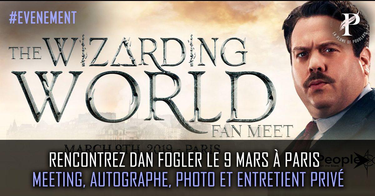 Rencontrez Dan Fogler le 9 mars à paris   meeting, autographe, photo et entretient privé