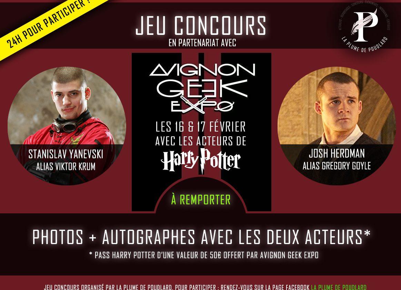JEU CONCOURS: Remportez un Pass Harry Potter au Avignon Geek Expo