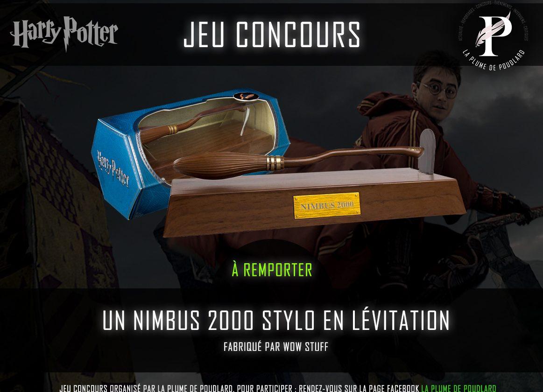 Jeu concours: remportez un balai stylo Nimbus 2000 en lévitation