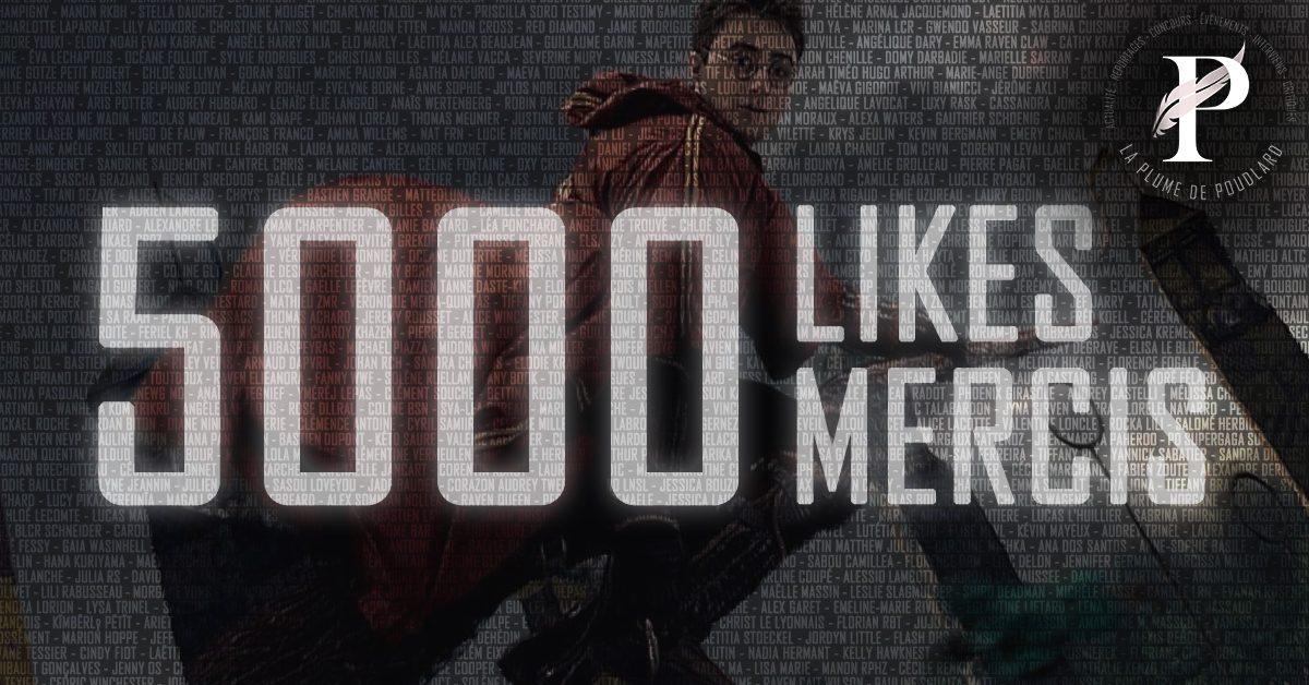 5000 abonnés !