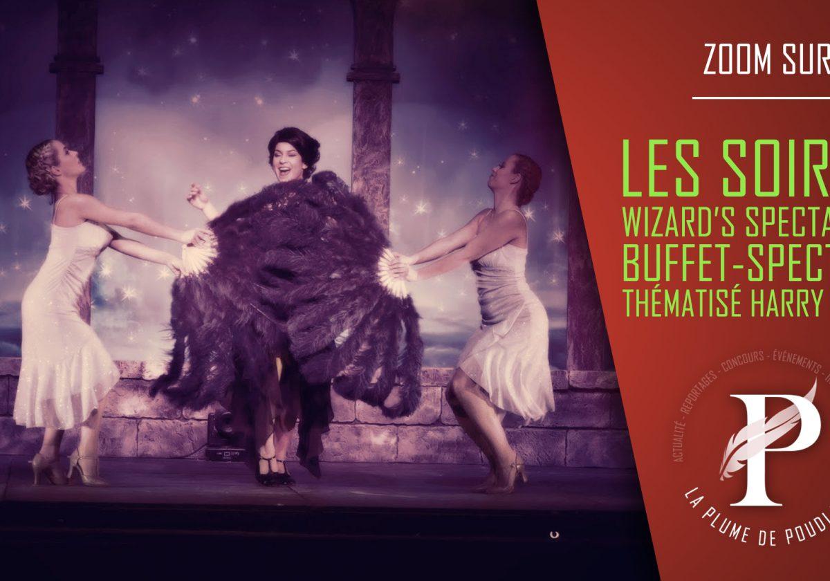 Les soirées Wizard's Spectacular : Buffet-Spectacle thématisé Harry Potter.