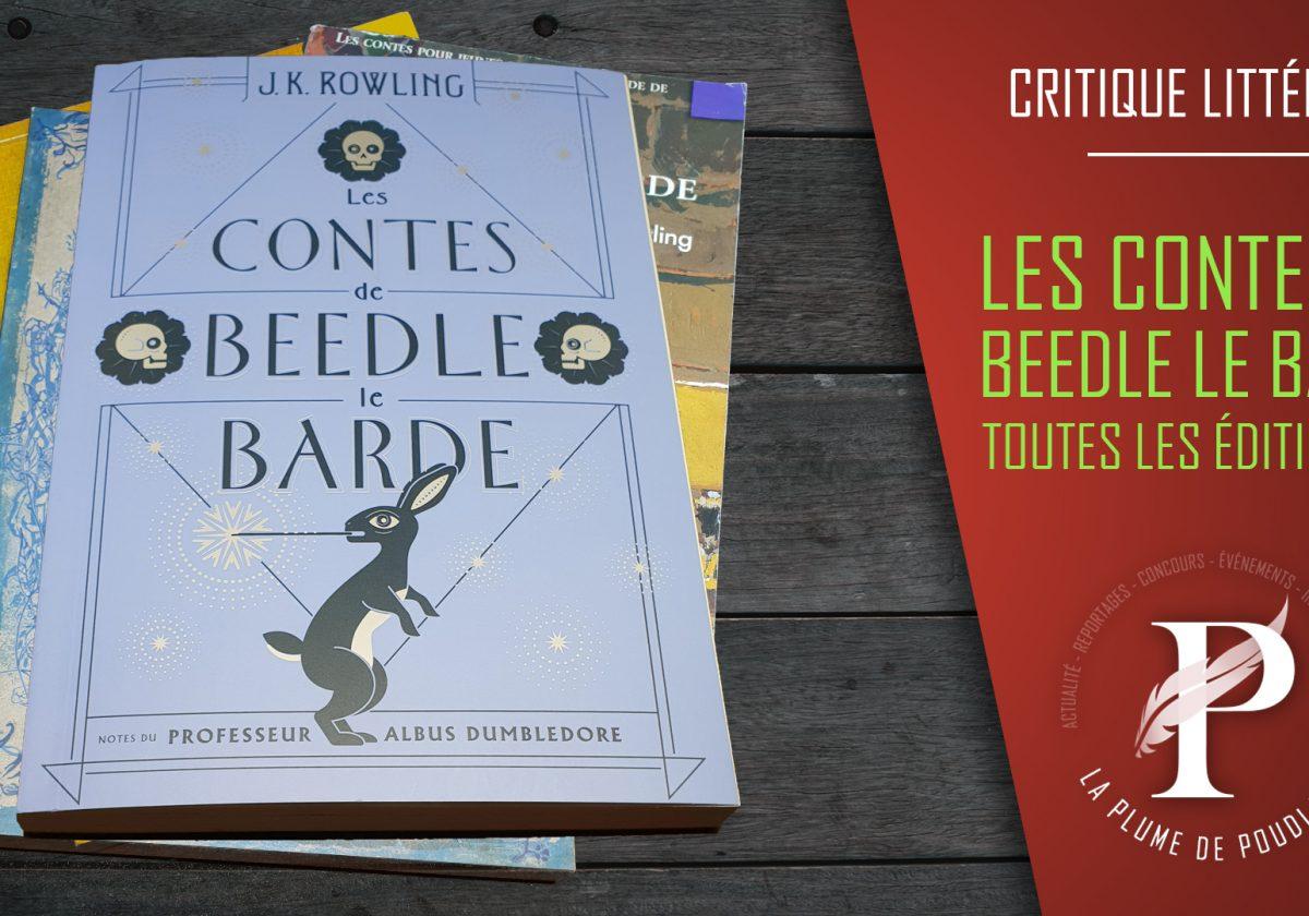 Les contes de Beedle le barde - Toutes les éditions FR