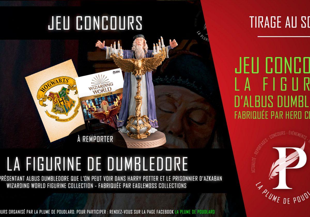 Résultat du jeu concours : Remportez la figurine d'Albus Dumbledore