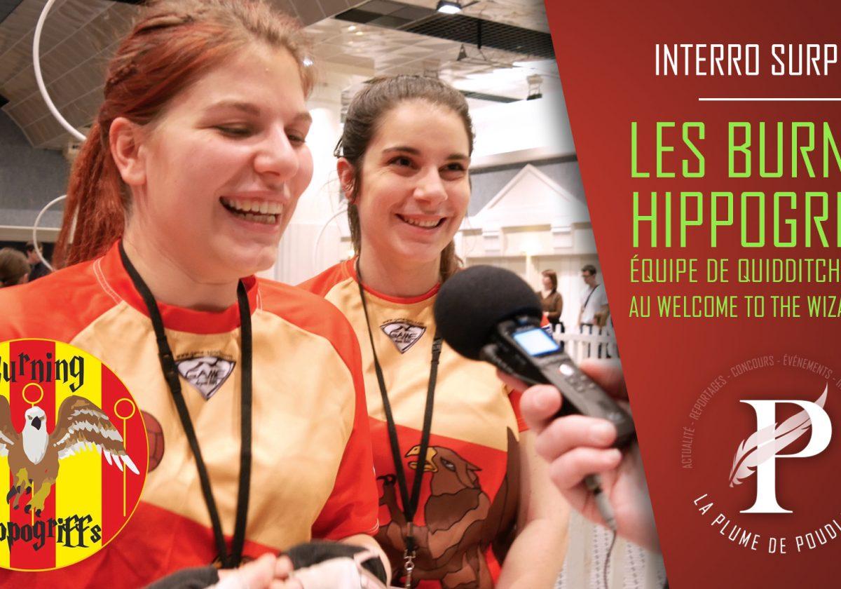Interro surprise : Les Burning Hippogriffs - équipe de quidditch de Caen