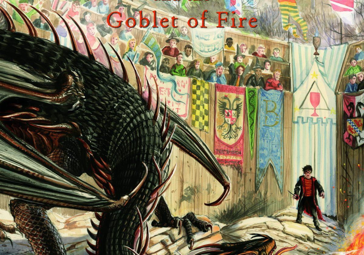Les premières images de Harry Potter et la coupe de feu illustré par Jim Kay