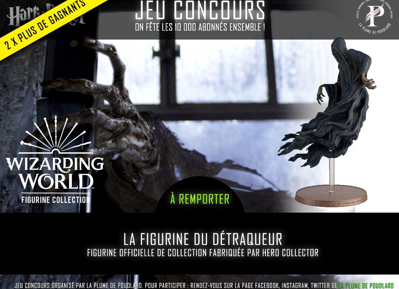 Jeu concours : Remportez la figurine du Détraqueur officielle de la collection Hero Collector.