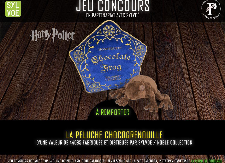 Jeu concours : Remportez la peluche de la Chocogrenouille