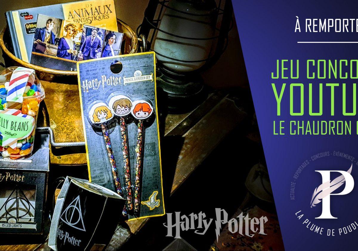 Jeu concours : Remportez un chaudron garni de produits Harry Potter et des Animaux Fantastiques