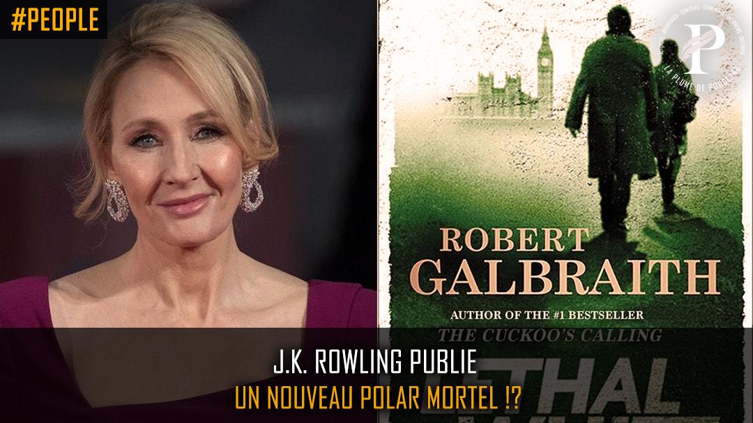 J.K.Rowling publie un nouveau roman policier!