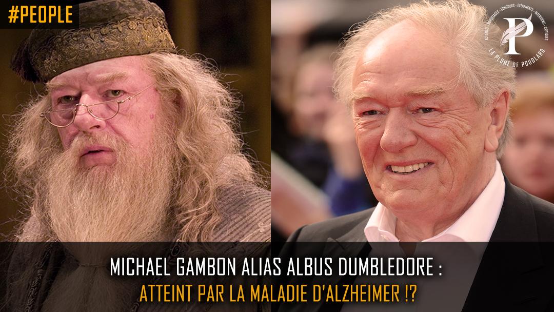 Michael Gambon alias Albus Dumbledore atteint par la maladie D'Alzheimer?