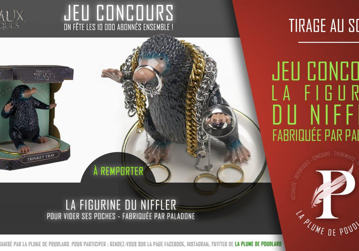 Résultat du jeu concours : Remportez la figurine du Niffler de Paladone.