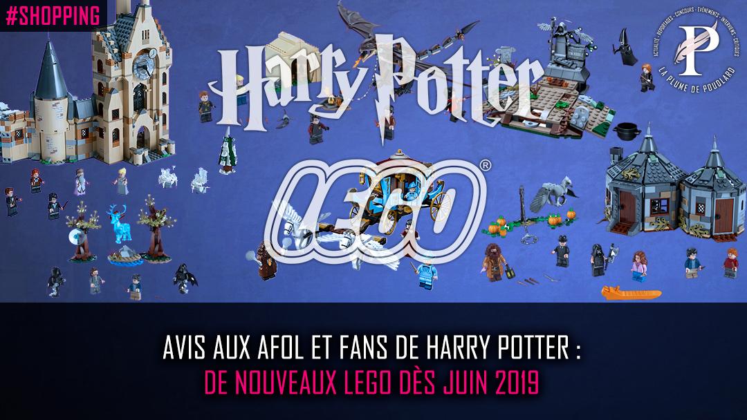Avis aux AFOL (Adult Fan of Lego) et d'Harry Potter : de nouveaux Lego dès juin 2019