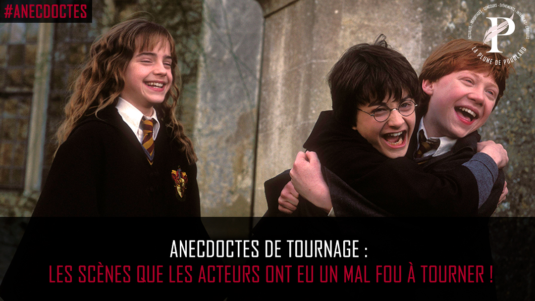 Les acteurs d'Harry Potter ont eu un mal fou à tourner ces scènes : quelques secret du tournage !
