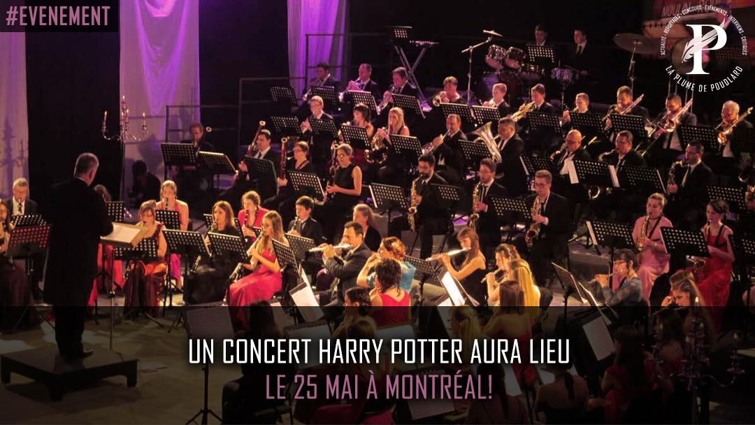 Un concert Harry Potter aura lieu le 25 mai !