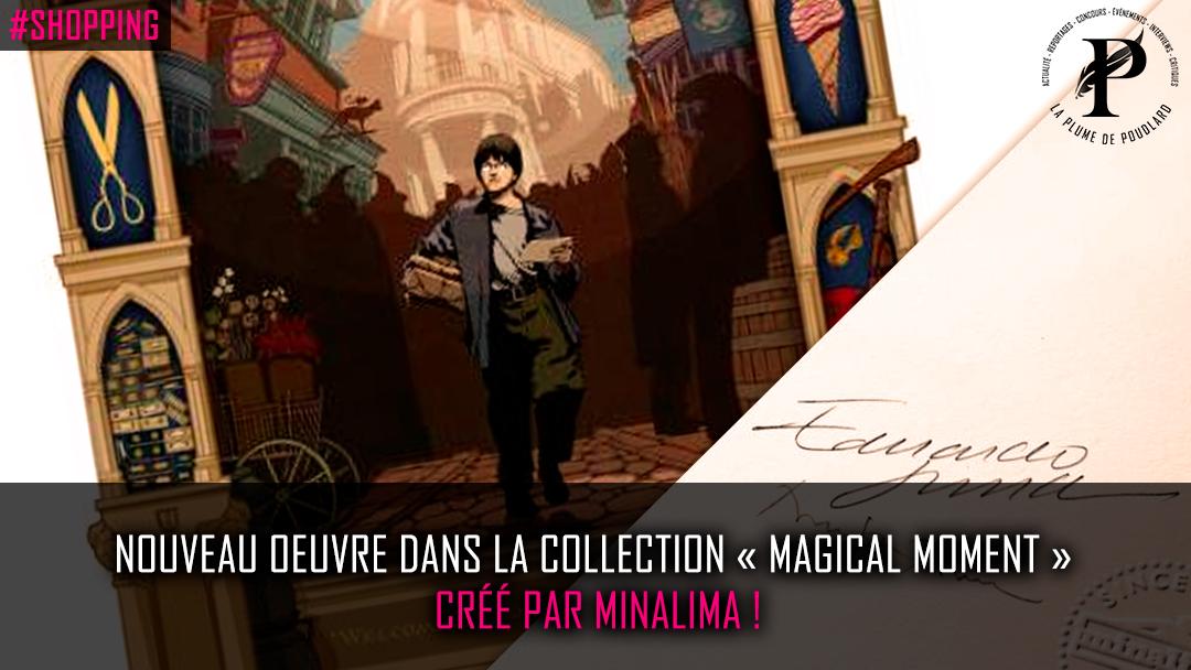 Nouveau produit de la collection « Magical Moment » créé par  MinaLima !