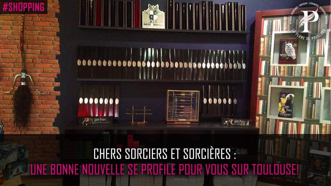 Chers sorciers et sorcières, une bonne nouvelle se profile pour vous sur Toulouse !