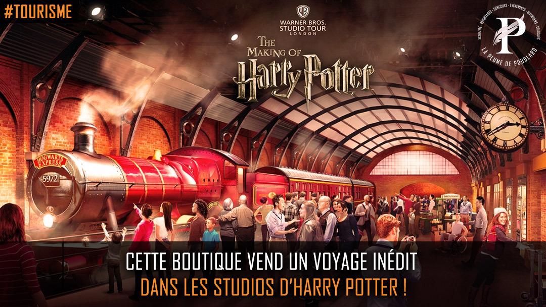 Flash info : Voyage inédit au sein de l'univers d'Harry Potter !