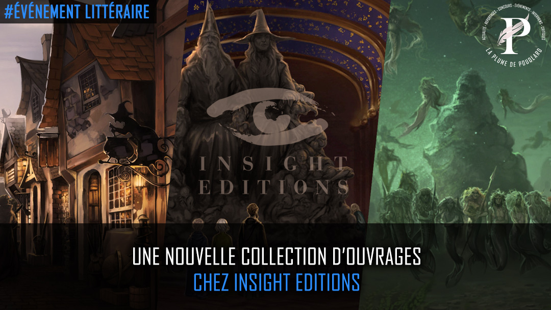 Une nouvelle collection d'ouvrages chez Insight Editions !