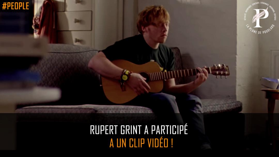 Rupert Grint dans un clip de Ed Sheeran !