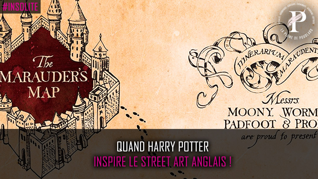 Quand Harry Potter inspire le Street Art Anglais !