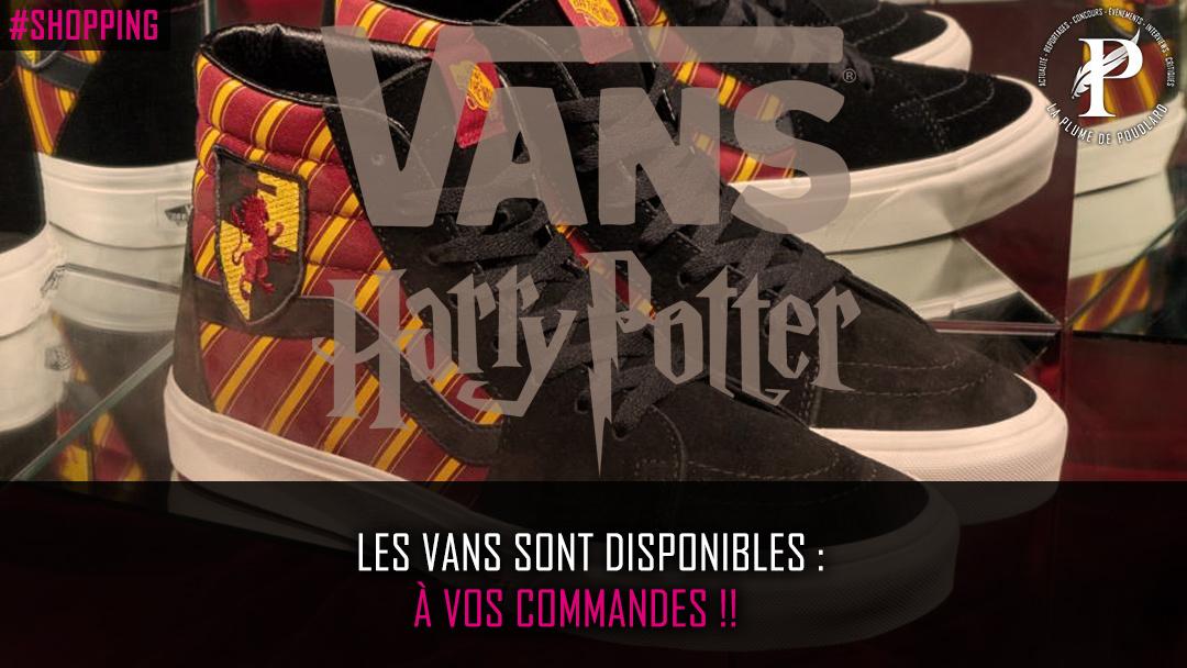 Les Vans sont disponibles : À vos commandes !!
