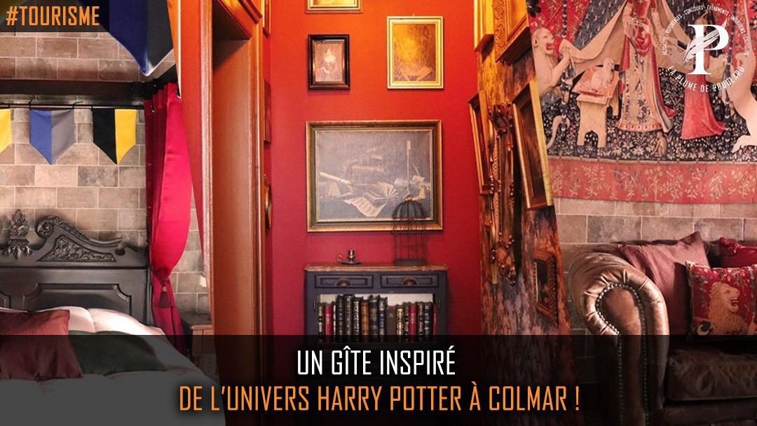 Un gîte inspiré de l'univers Harry Potter à Colmar !
