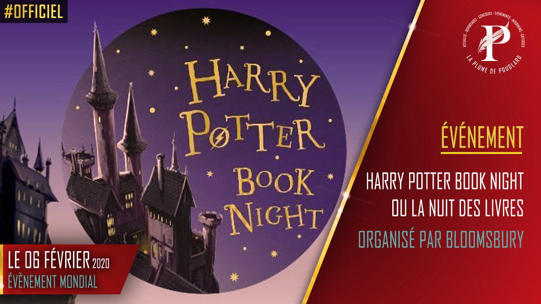 Le 06 Fevrier 2020 Harry Potter Book Night Ou La Nuit Des