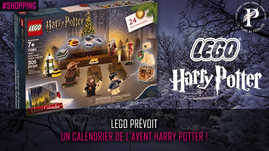LEGO prévoit un calendrier de l'Avent Harry Potter !