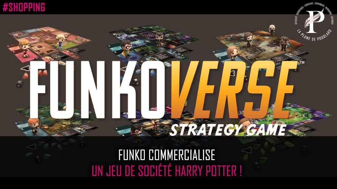 Funko commercialise un jeu de société Harry Potter !