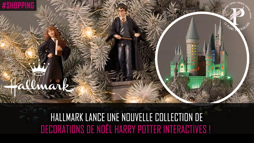 Des décorations de Noël Harry Potter… Interactives !