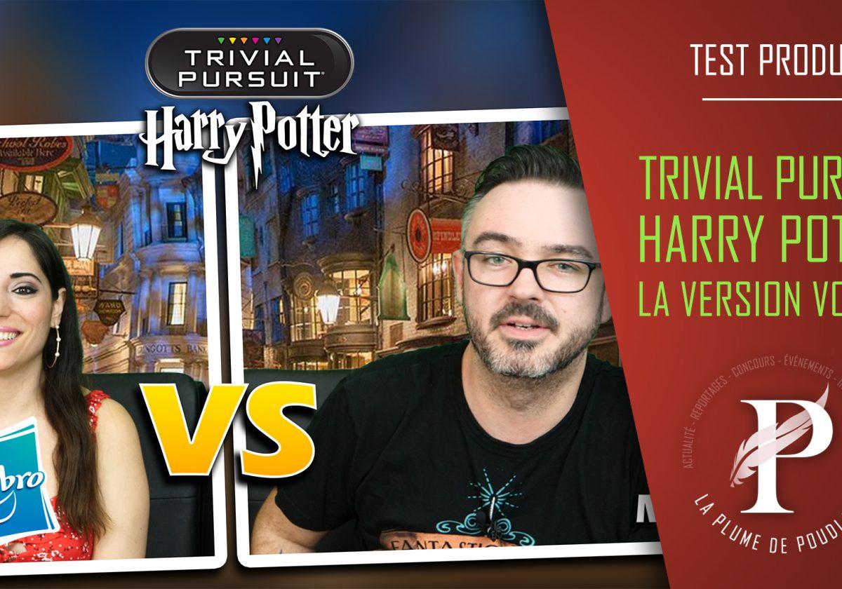 Test produit : Trivial Pursuit Harry Potter de voyage de chez Hasbro