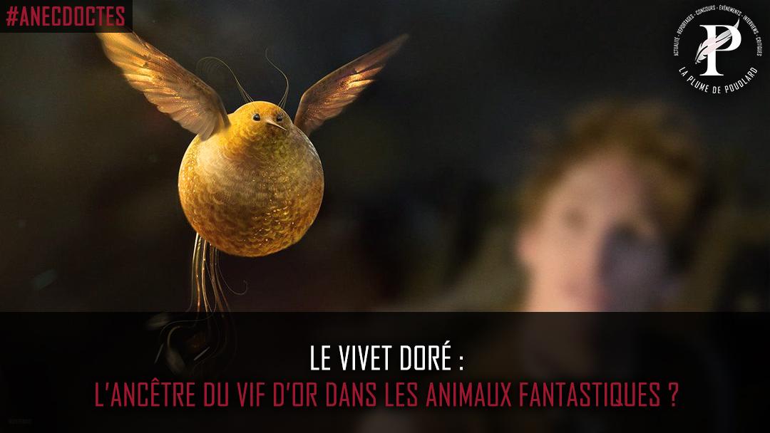 L'ancêtre du Vif D'or dans les animaux fantastiques ?