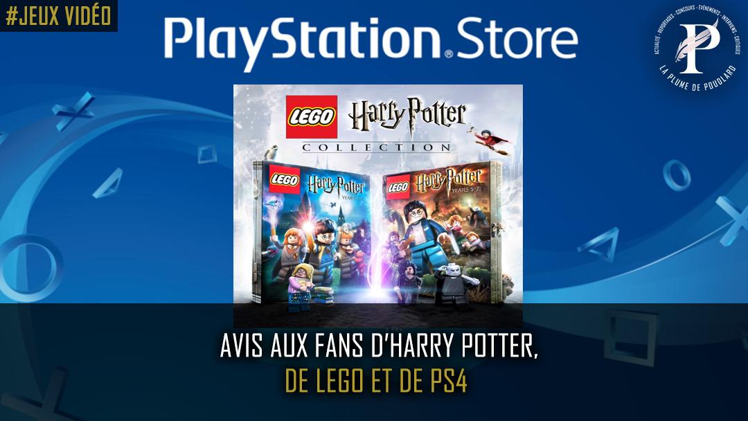 Avis aux fans d'Harry Potter, de Lego et de PS4