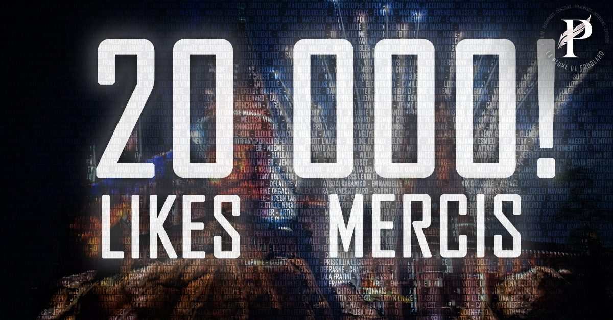 20 000 abonnés !!