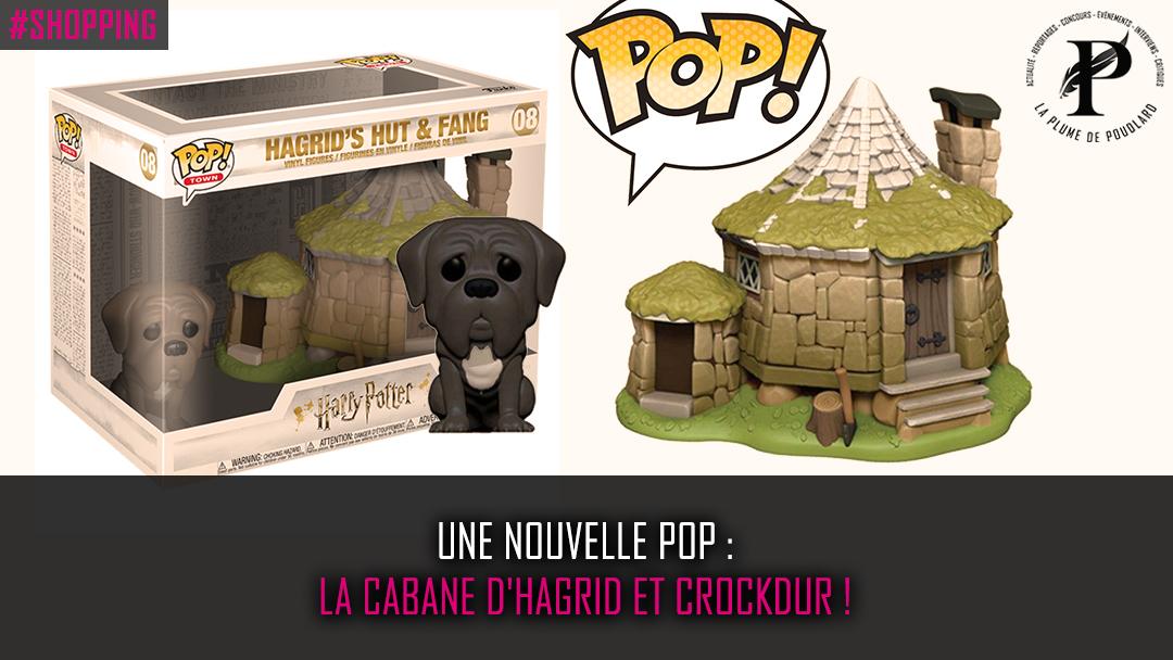 Une nouvelle pop : la cabane d'Hagrid et Crockdur