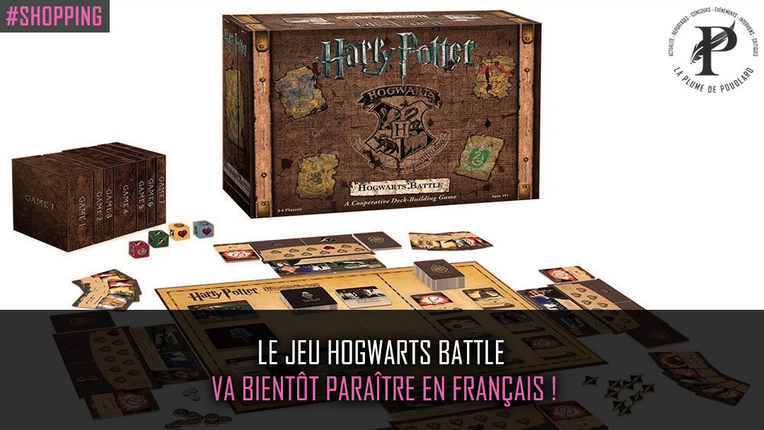 Le jeu Hogwarts Battle va bientôt paraître en français !