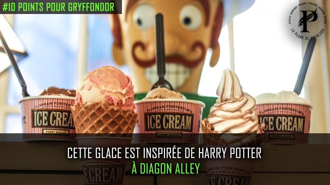 Une glace au goût inspiré par Harry Potter ?!