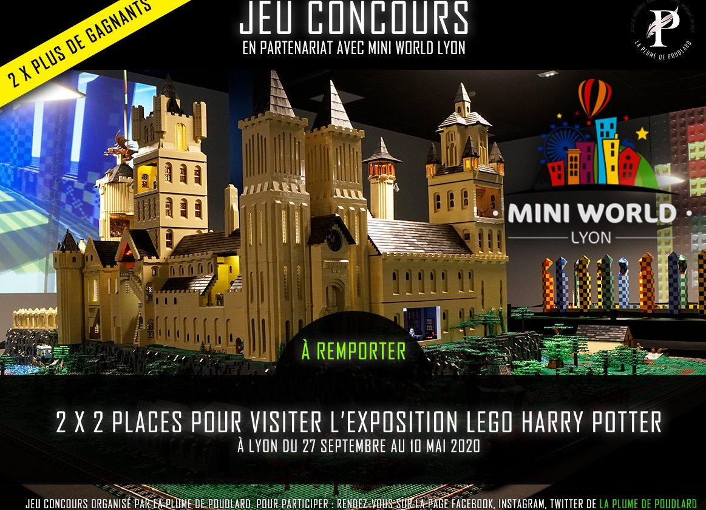 Remportez 2 x 2 places pour visiter l'exposition LEGO à Lyon