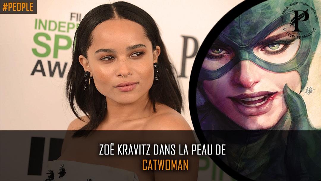 Zoë Kravitz va jouer Catwoman dans le prochain Batman !