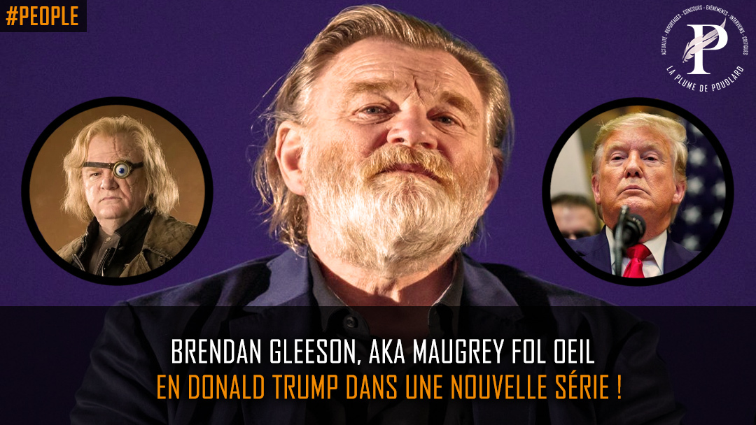 Brendan Gleeson, aka Maugrey Fol Oeil, en Donald Trump dans une nouvelle série !