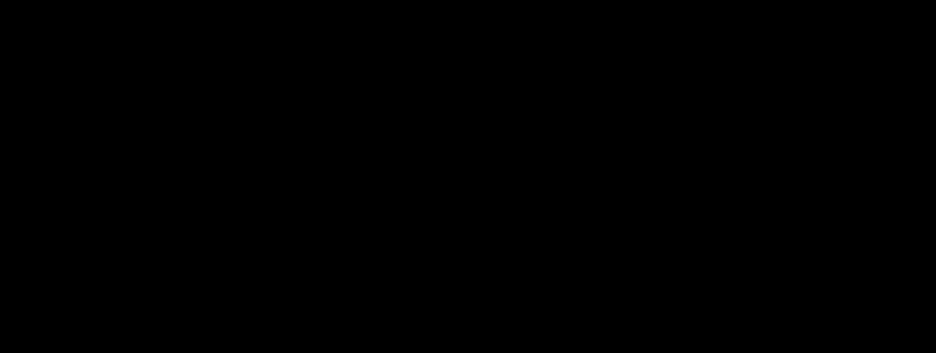 La Plume de Poudlard Logo Large Noire