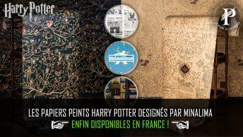 les papiers peints harry potter designés par minalima enfin disponibles en france !