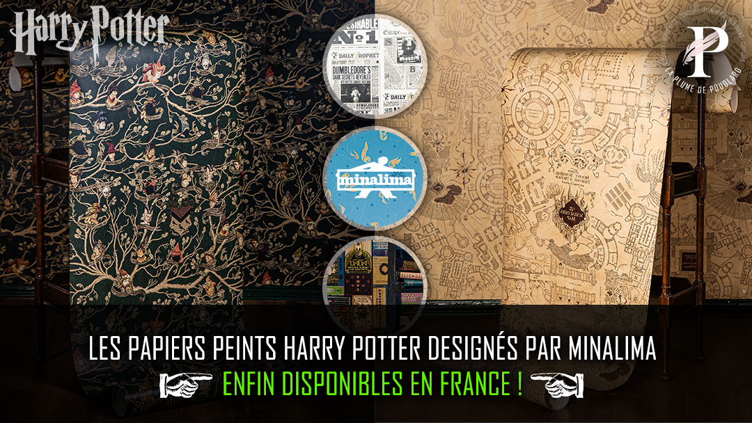 les papiers peints harry potter designés par minalima enfin disponibles en france !