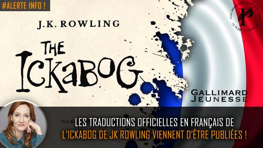 ickalog chapitre 1 dès maintenant en français par la La Plume de Poudlard