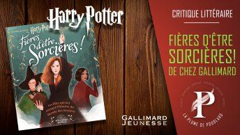 Critique Littéraire : Fières d'être sorcières ! Harry Potter
